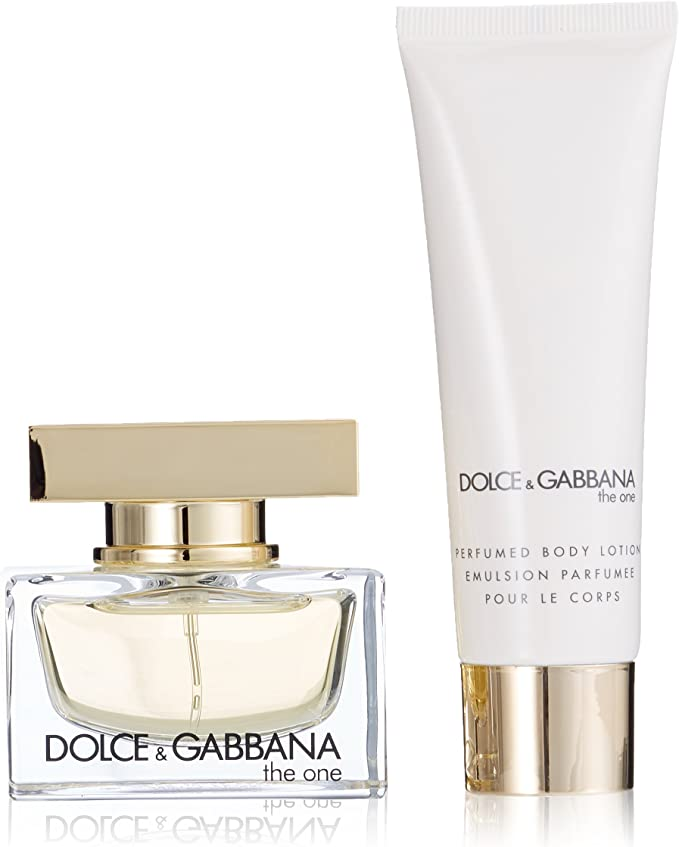DOLCE & GABBANA THE ONE EDP 30 ML + B/L 50 ML SET REGALO: Amazon.es: Belleza