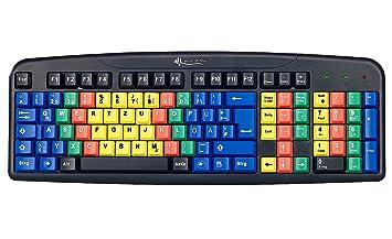 GeneralKeys - USB de teclado para sistema 10 dedos de ejercicios y software: Amazon.es: Informática