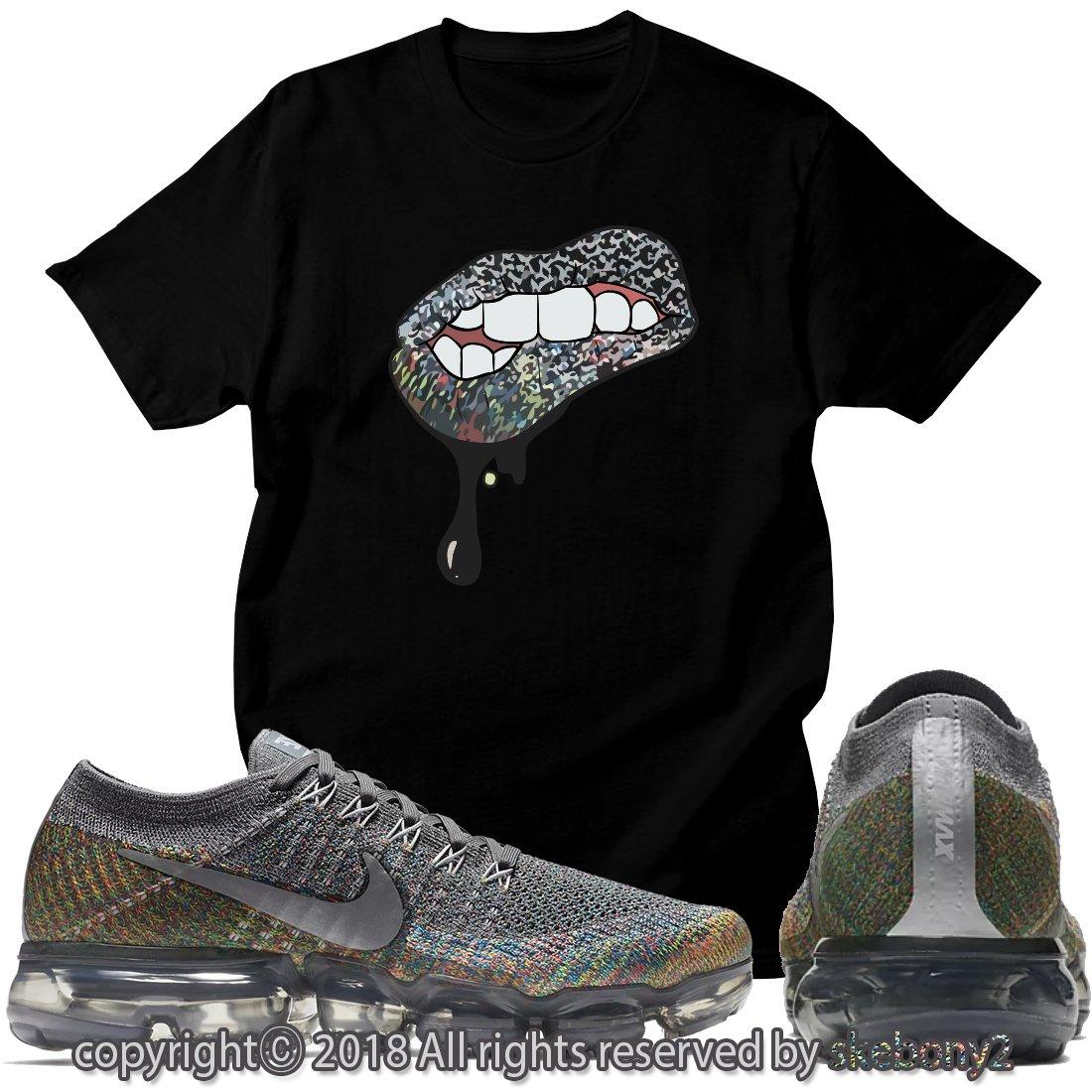 61d71b04883a12 Custom T Shirt Matching Nike AIR Vapormax Plus Flyknit Running Gray  AVP-1-44-2 at Amazon Men s Clothing store