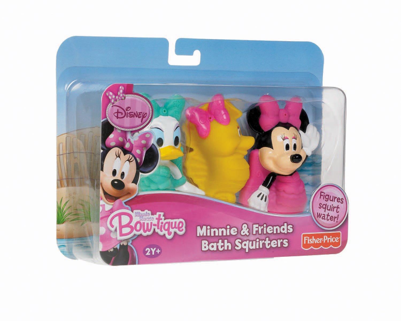 Amazon.com: Fisher-Price Disney Minnie Bath Squirters: Toys & Games