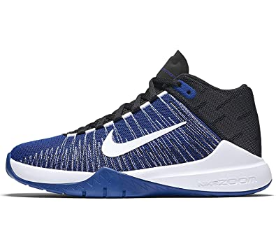 huge selection of 15dbc 95f28 Nike Boy s Zoom Ascention Basketball Shoes Game Royal White-Black 6.