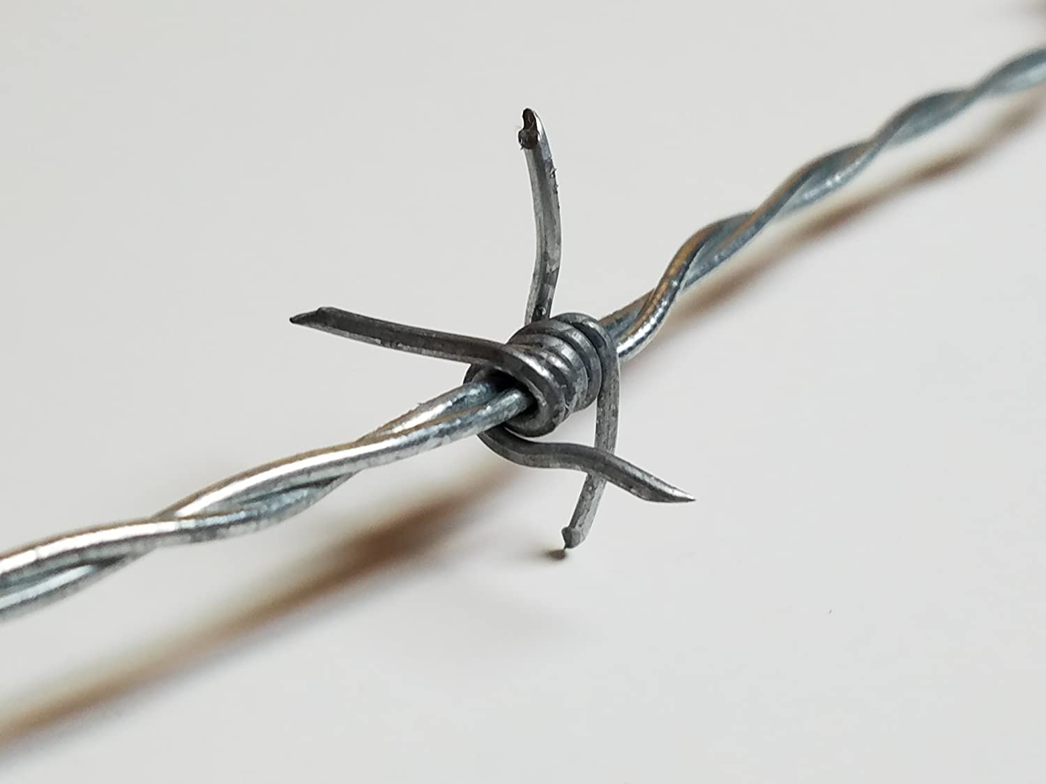 Amazon.com: Real Barbed Wire 25ft 18 gauge: Arts, Crafts & Sewing