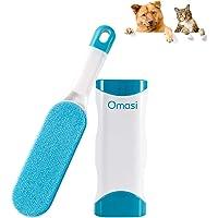 Omasi Quitapelos para Mascotas, Removedor de Pelo para Mascotas Cepillo de Limpieza Removedor de Pelaje para Perro y…