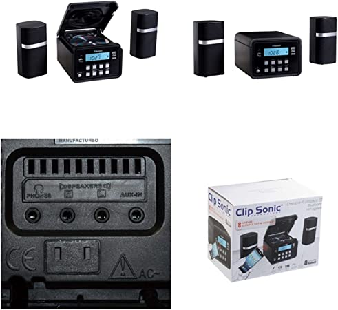 Bluetooth Stereo System Compact Music System Cd Player Elektronik