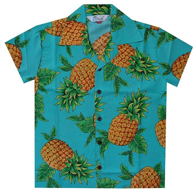 huge selection of a8758 19082 Alvish Camicie hawaiane per Ragazzi, in bambù, per Spiaggia ...