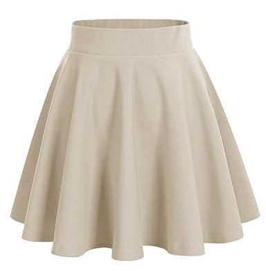 Dresstells Jupe Mini Courte évasée en Polyester  Amazon.fr ... 8466a1e2546d