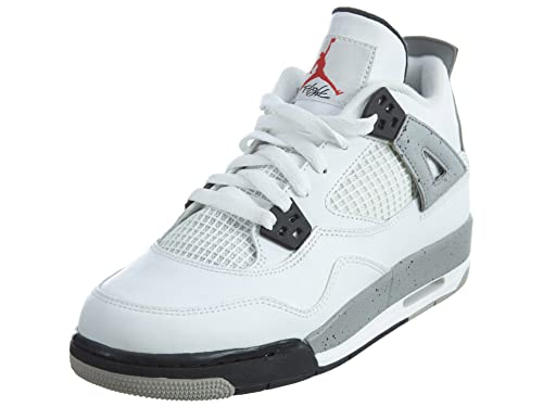 lowest price 8bf77 a5009 Nike Air Jordan 4 Retro OG Bg, Zapatillas de Deporte para Niños  Amazon.es  Zapatos  y complementos