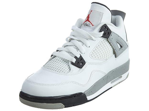 new arrival 6bdba ff8a4 Amazon.com   NIKE air Jordan 4 Retro OG BG hi top Trainers 836016 Sneakers  Shoes   Basketball