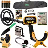 Garrett Ace 250 Metal Detector with Headphones, DVD, Digging Trowel, Finds Pouch and