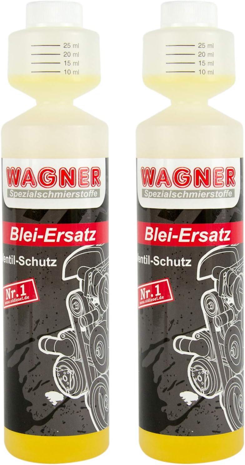 2x Wagner Spezialschmierstoffe Blei Ersatz Bleiersatz Ventilschutzmittel 250 Ml Auto