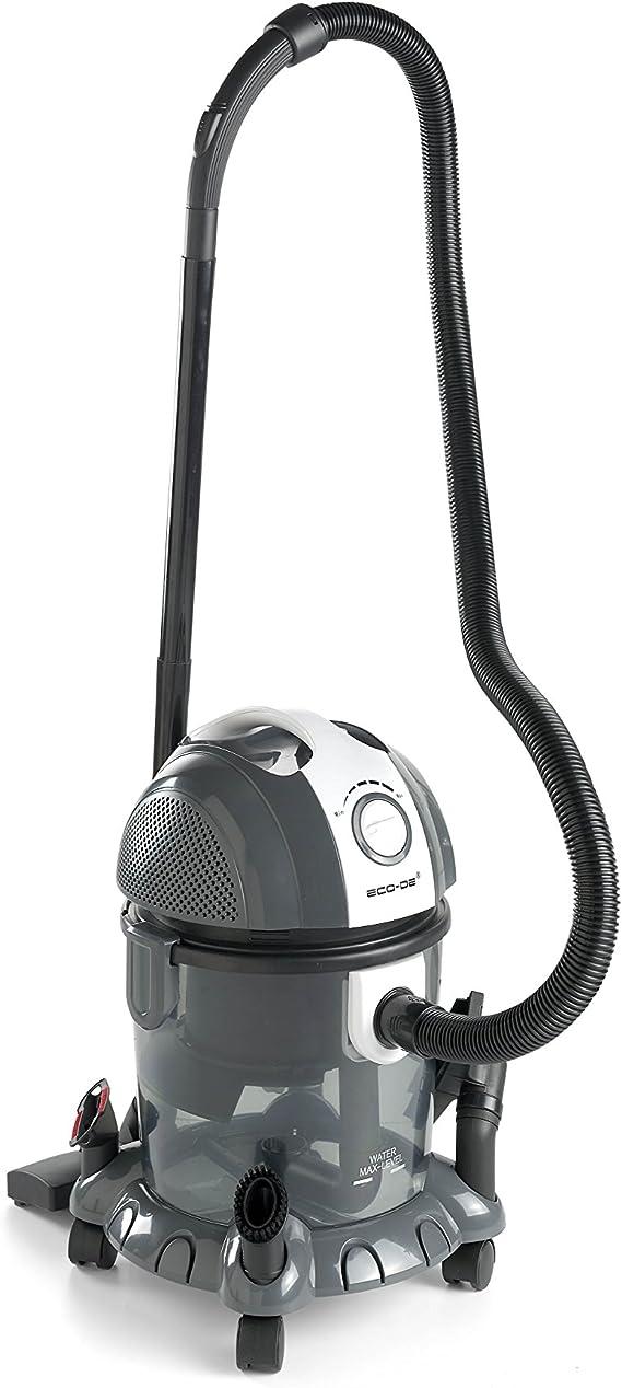 ECO-DE Aspirador de solidos y liquidos Blower Wet & Dry 1500 W, 15 litros, Filtro HEPA Lavable y Filtro de Agua. Funcion sopladora y regulador de Potencia.: Amazon.es: Hogar