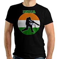 TeeSpace Cricket Shirt India Cricket Jersey Batsmen Design