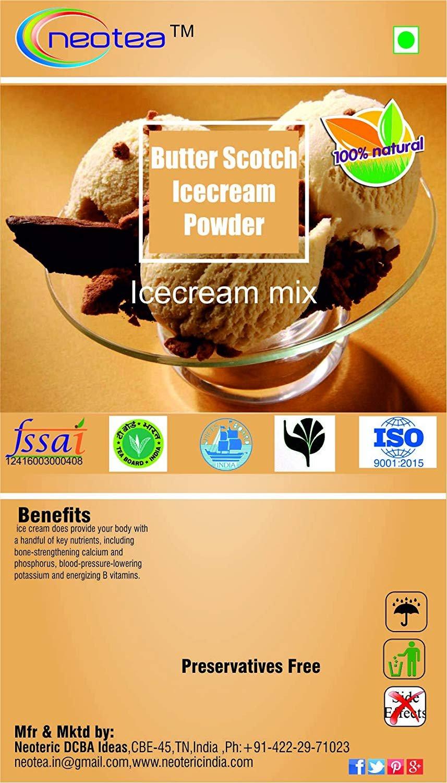 Neotea Butter Scotch Icecream Powder, 100g