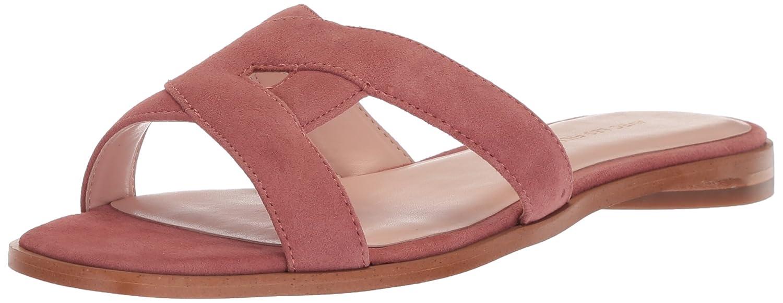 Dusty pink Kid Suede Avec Les Filles Womens Blaye Flat Sandal