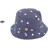 RUHI Toddler Kids Sun Protection Cap Packable Lovely Bucket Hat with Chin  Strap 2d26b8c6d945