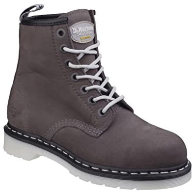 Dr. Martens Womens Ladies Maple Classic Steel-Toe Lace Up Safety Boots   Amazon.co.uk  Shoes   Bags f910d40477