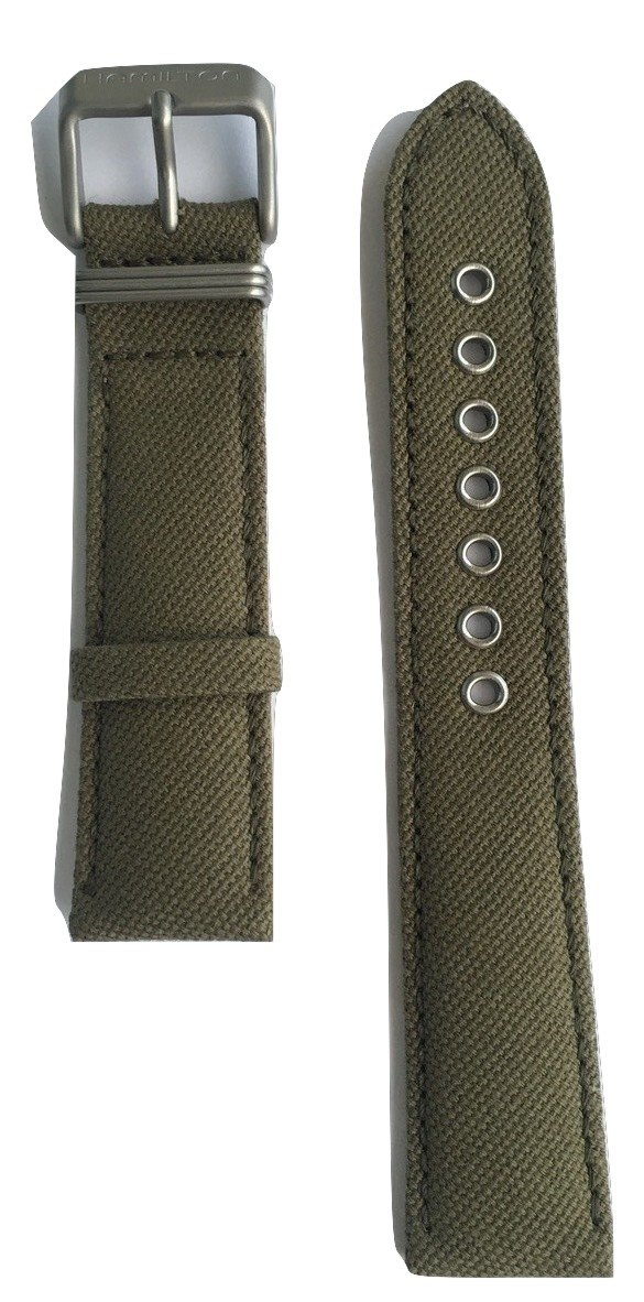 Authentic Hamilton Khaki Field Green Canvas Band Strap for H69419363 or H69419933