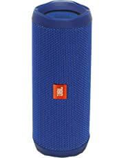 JBL FLIP 4 IPX7 Waterproof Wireless Portable Bluetooth Rechargeable USB Speaker (Blue) (Renewed)