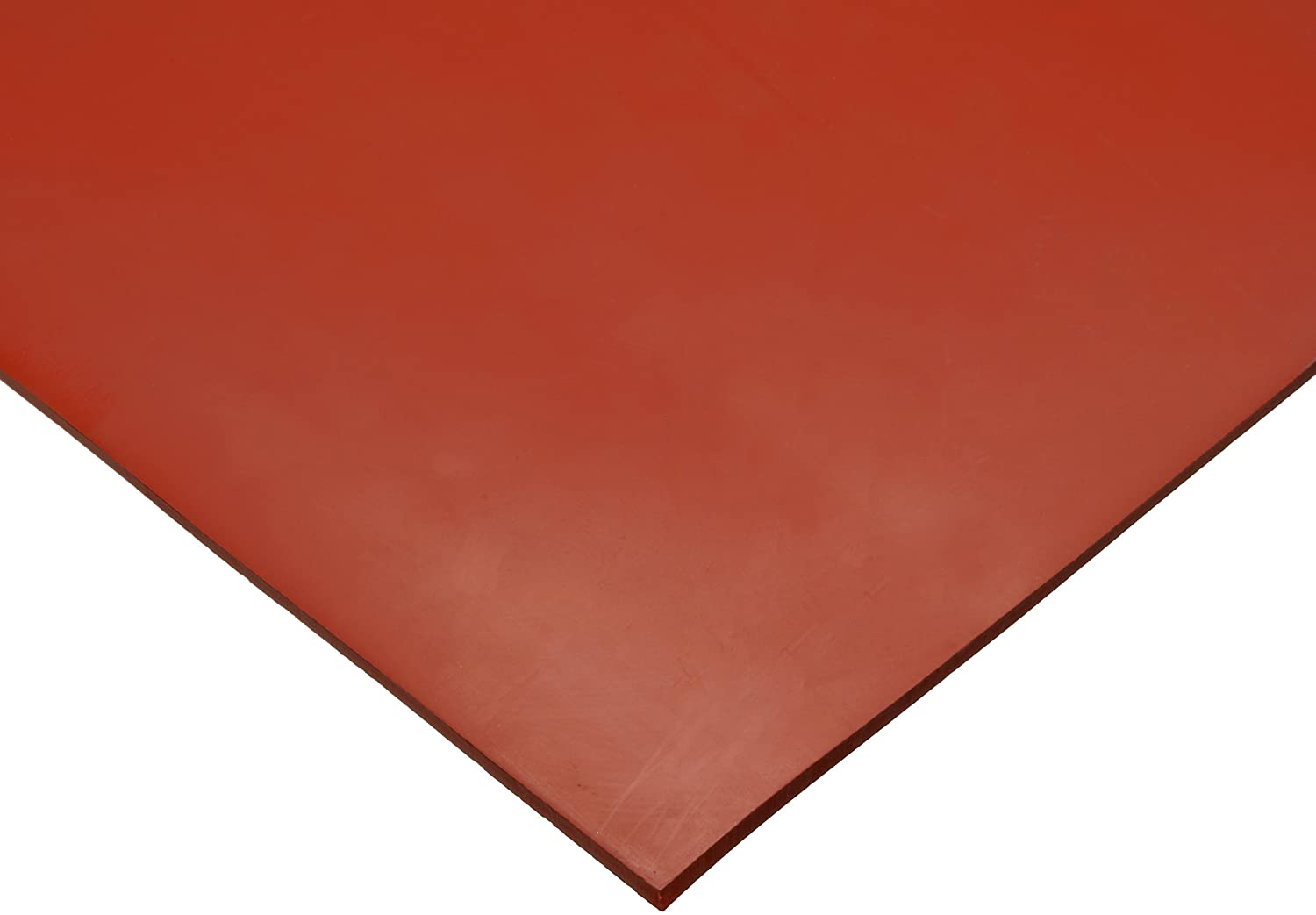 75 Shore A Sheet 24 Length Smooth Finish 12 Width No Backing 1//16 Thickness Styrene Butadiene Rubber SBR Red