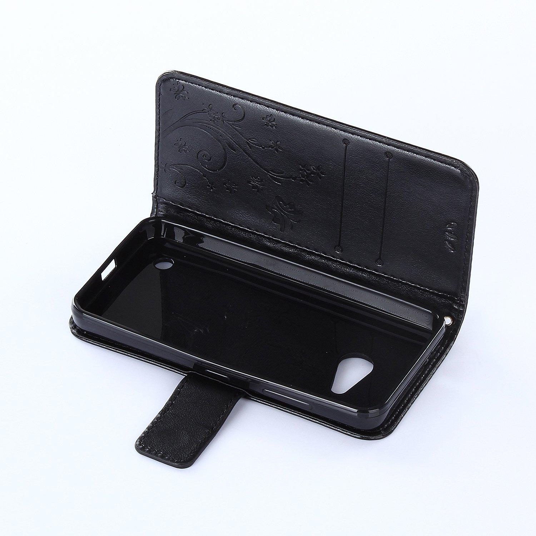 dooki Lumia 550/Schutzh/ülle Unterst/ützt Flip Tasche Brieftasche PU Leder Decke Schutzh/ülle f/ür Microsoft Lumia 550/mit Kredit Karte Holding Schlitz