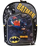 "Batman Robin hood building toys Backpack 16"" youth children"