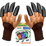 Garden Genie Gloves with Claw Waterproof Outdoor Digging Planting for Women and Men
