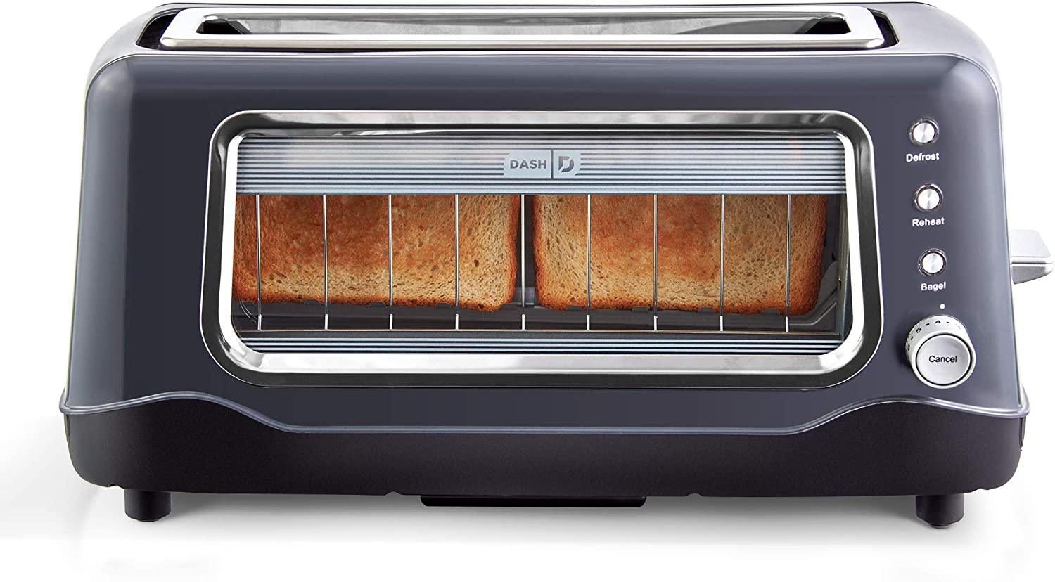 Dash Clear View Toaster (Renewed)