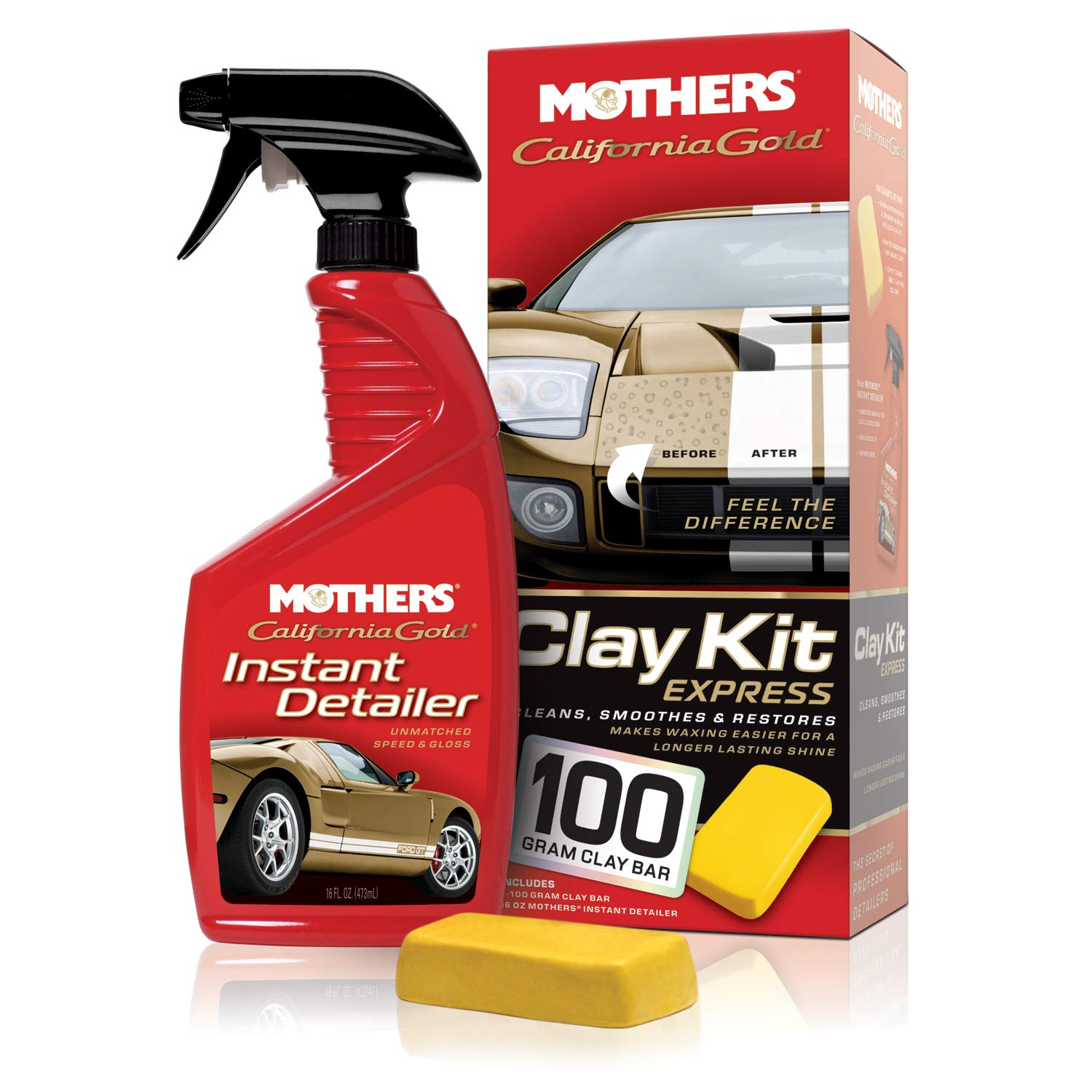 Mother's California Gold Clay Kit Express