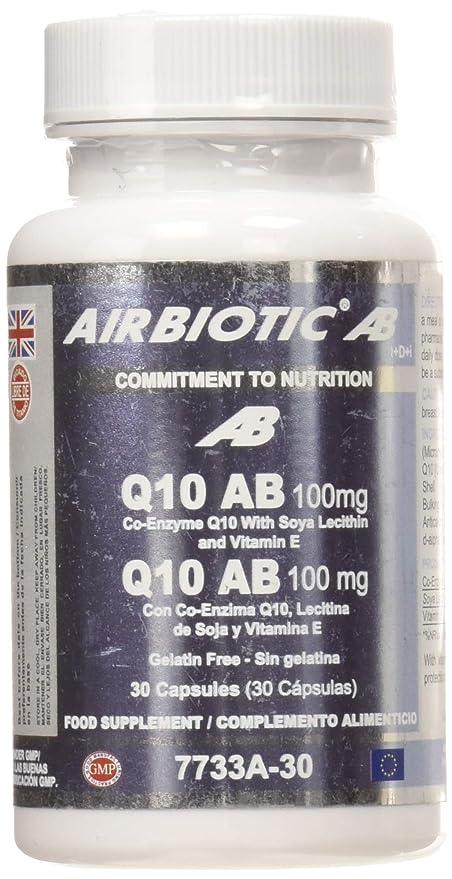 Airbiotic AB Q10 AB Complex 100 mg, Suplemento alimenticio ...