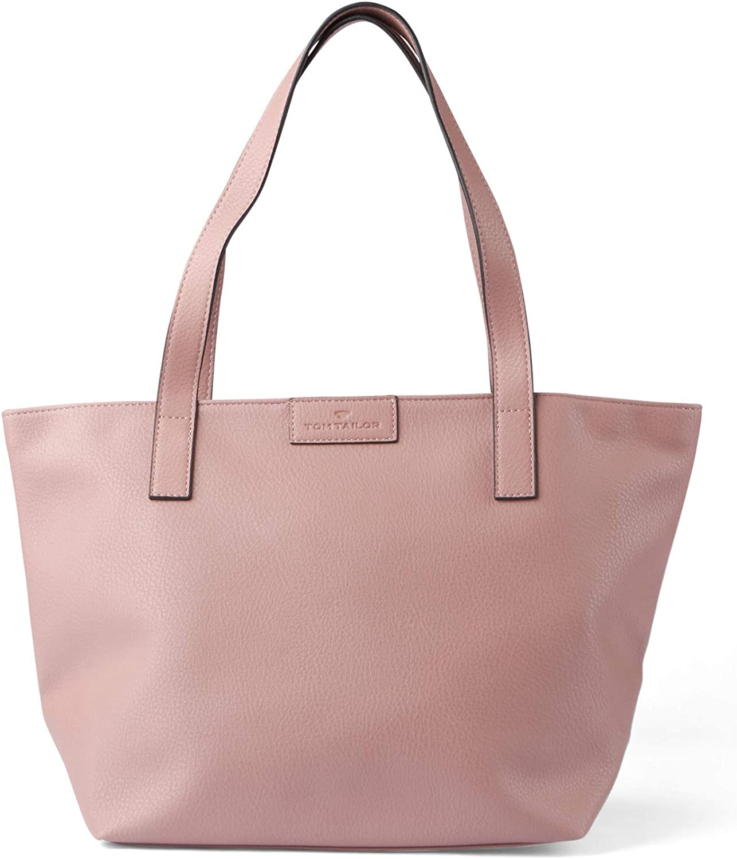 TOM TAILOR Damen Taschen & Geldbörsen Shopper Miri old rose - Tasche rosa