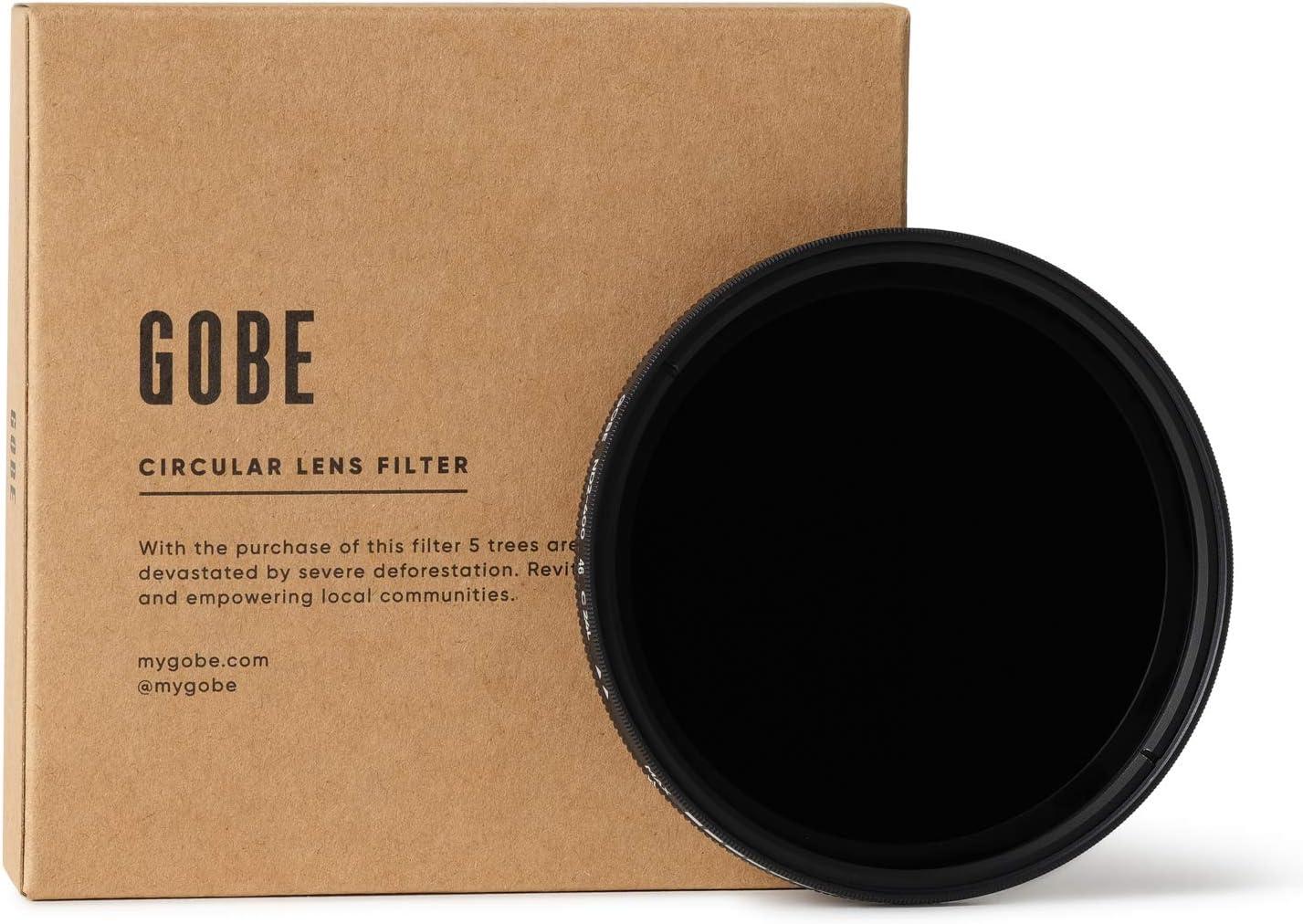 Amazon Com Gobe 46mm Nd2 400 Variable Nd Lens Filter 2peak Camera Photo