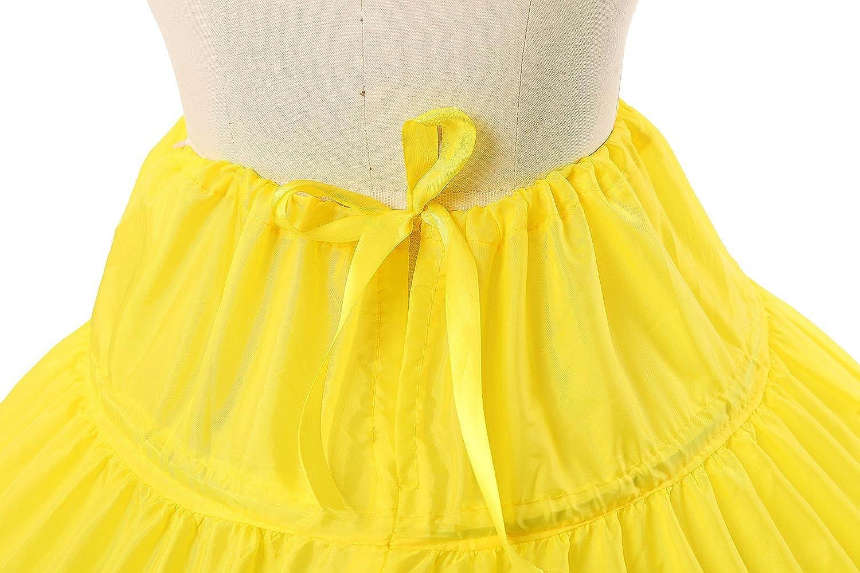 BEAUTELICATE Petticoat Reifrock Unterr/öcke Damen Lang Fur Brautkleid Hochzeitskleid Vintage Crinoline Underskirt.