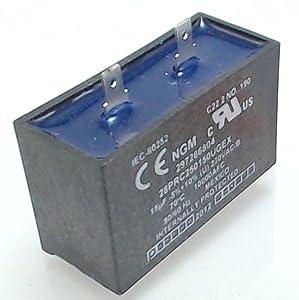 Refrigerators & Freezers Refrigerator Capacitor for Frigidaire, Electrolux AP4315853 PS2333670 5304464438