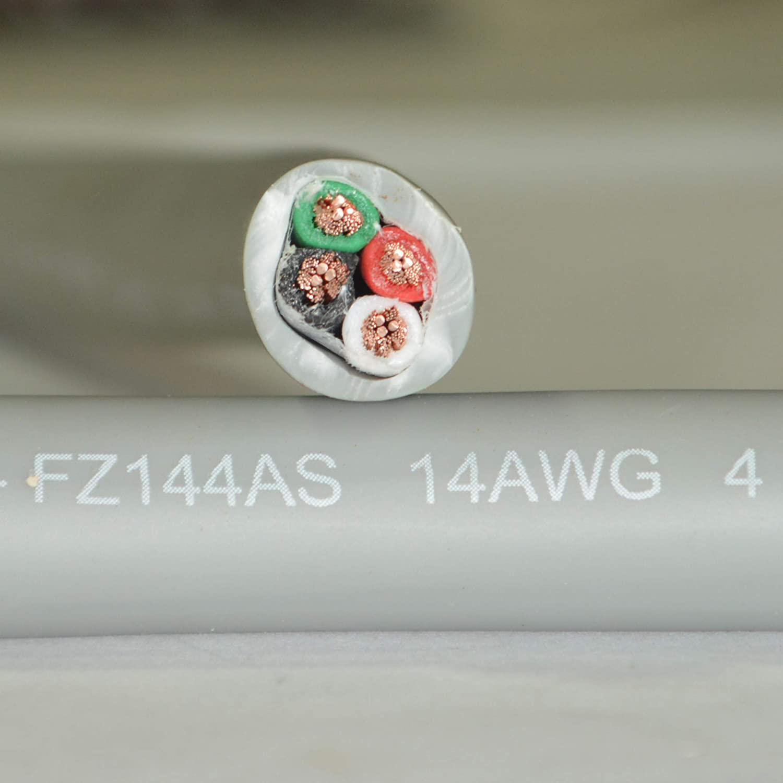 Furez C10100-99.997% FZ144AS 高伝導率) 14 AWG 4導体 OFHC 先進的な壁 CL3 定格スピーカーケーブル 純銅 C10100-99.997% OFHC (無酸素料 高伝導率) - 500フィート B07JZHMSYM, 彦根市:e97f474a --- pvosasco.org.br