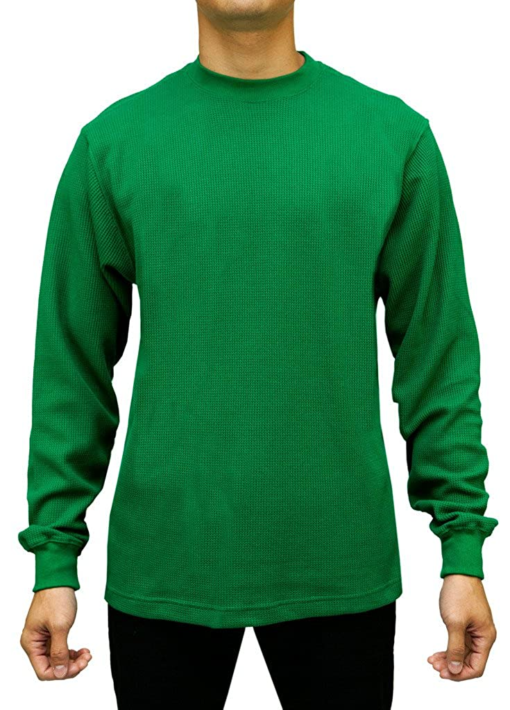 Access Men's Heavyweight Long Sleeve Thermal Crew Neck Top AT11