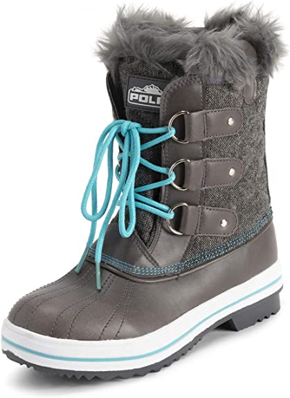 Polar Products Womens Waterproof Snow Boot