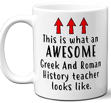 Amazon com: Greek And Roman History Teacher Gifts  Funny