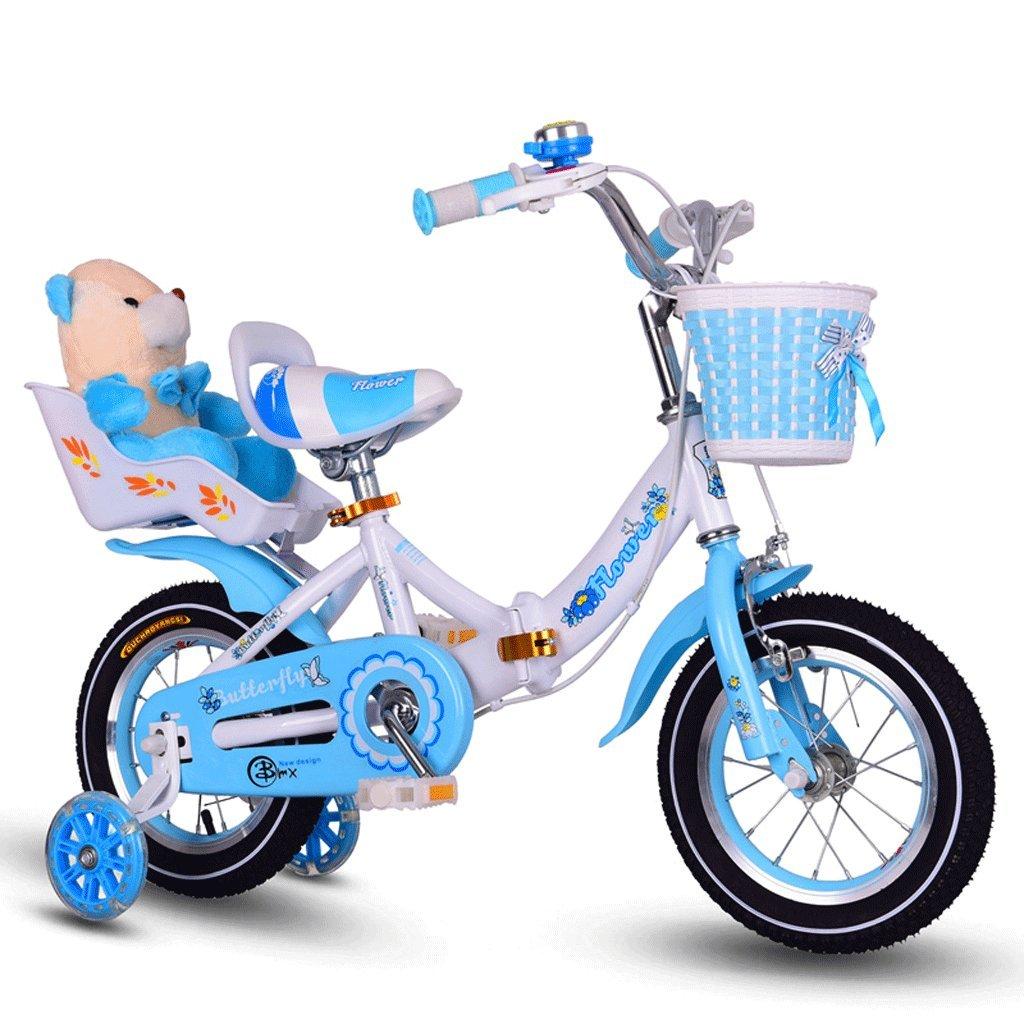 自転車 折りたたみ子供用自転車ガール12/14/16/18/20インチ (サイズ さいず : 12 inch) B07DPPDRYP 12 inch 12 inch