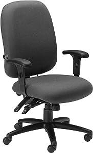 Mayline Comfort Series Big & Tall 24-Hour Chair, Blue