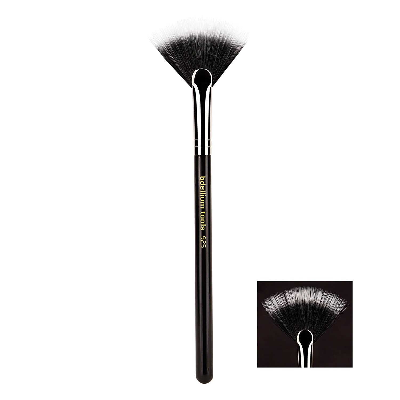 Bdellium Tools Professional Makeup Brush Maestro Series, Duet Fiber Fan 925