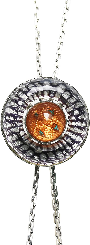 TAMARUSAN Bolotie Chain Long Necklace Shell Unisex Handmade