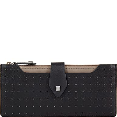bf37797309e9 Lodis Blair Perf Sandy Multi Pouch Wallet (Black/Taupe) at Amazon ...