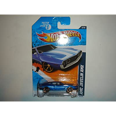 2011 Hot Wheels KMart Exclusive AMC Javelin AMX Blue #142/244: Toys & Games