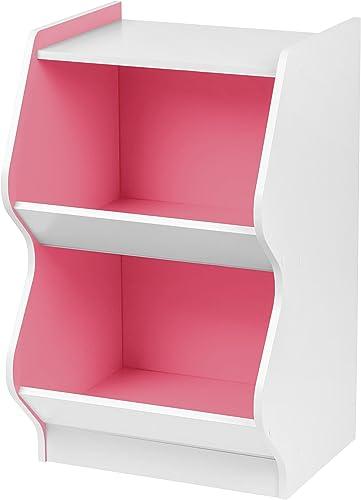 IRIS 2 Tier Curved Edge Storage Shelf