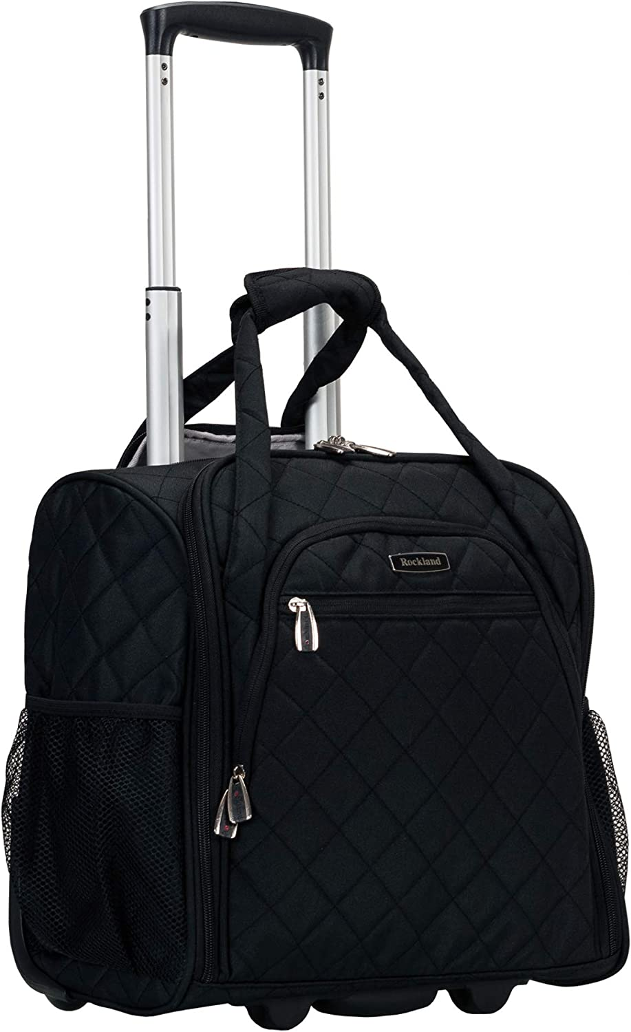 Rockland Wheeled Underseat Carry-on, Black
