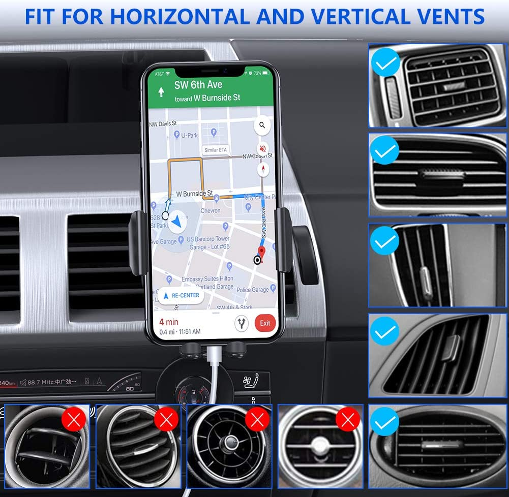 Miracase mobile phone information for vertical vents