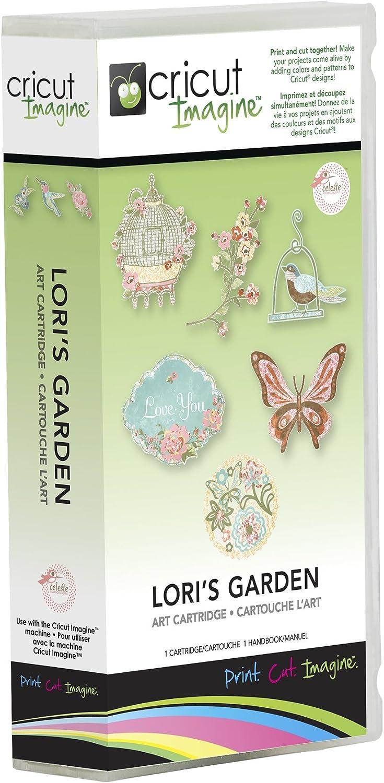 Provo Craft Cricut Imagine Art Cartridge, Lori's Garden