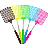 Tatuo 5 Pack Extendable Fly Swatter, Manual Swat