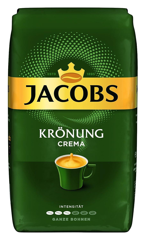 Jacobs Kaffeebohnen Krönung Crema 1 Kg Bohnenkaffee Amazon De Lebensmittel Getränke