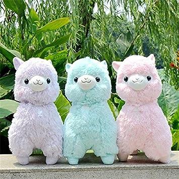 Amazon Com Alpacasso Alpaca Plush Toy 35cm Height Soft Stuffed